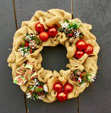 christmas burlap wreaths christmas burlap wreath sold out makkink s sunflower farm