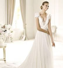 wedding dresses for small bust how to choose a flattering neckline for your wedding dress