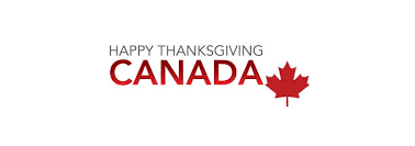 happy thanksgiving to singsnaps canadians who celebrate today