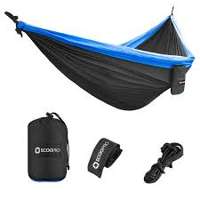 ecoopro double camping hammock lightweight u0026 portable parachute