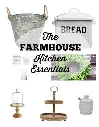 farmhouse style kitchen essentials the glam farmhouse