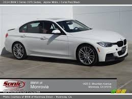 bmw 335i sedan 2014 alpine white 2014 bmw 3 series 335i sedan coral black