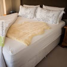 Cheap Sheepskin Rugs Genuine Medical Sheepskin Mattress Pad Bed Underlay