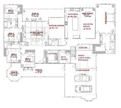 one story house plans with large kitchens one story house home plans design basics with large kitchens 42