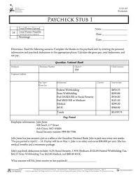 Excel Pay Stub Template Free Excel Pay Stub Template Thebridgesummit Co