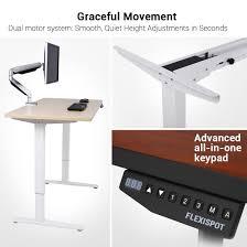 Elektrisch H Enverstellbarer Schreibtisch Flexispot E2b Höhenverstellbarer Schreibtisch Elektrisch