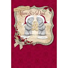 dad daddy me to you bear christmas cards ebay