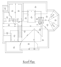 Lake House Plans Walkout Basement Craftsman Style Lake House Plan With Walkout Basement Roof Plan