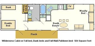 cabin layout disney s fort wilderness resort cground magical distractions