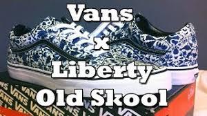 Jual Vans Liberty find sneakers vans skool multi floral black true white vvokdl4