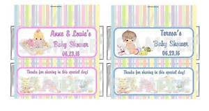 personalized precious moments baby shower candy bar wrappers