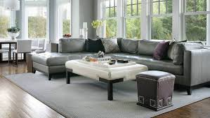 Grey Leather Sectional Sofa 18 Leather Sectional Sofa Designs Ideas Design Trends