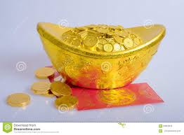 new year coin new year gold coins stock photo image of traditions
