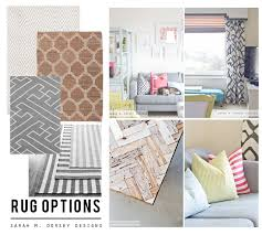 sarah m dorsey designs diy rug ideas for the living room