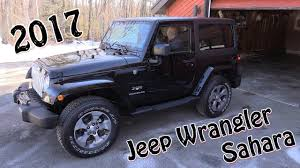 jeep wrangler saharah 2017 jeep wrangler a different review