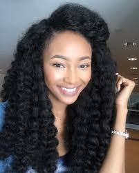 crochet marley hair kaymontrez wearing crochet braids afro textured hair extensions
