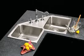 Modern Kitchen Sink Design by Kitchen Design Concept 2 Bowl Simple Corner Kitchen Sink Design