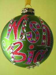 wish big whimsical hand painted ornaments 17 95 via etsy