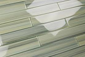 green glass tiles for kitchen backsplashes light green blue gray glass tile wintermoss subway glass tile for