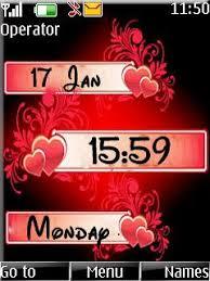 themes nokia c2 mobile free nokia c2 02 c2 03 c2 05 love clock theme app download in