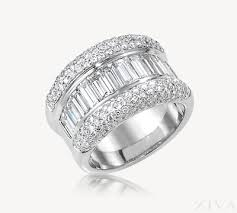 baguette diamond band baguette pave diamond band ring