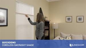 the cordless daynight lift option for cellular shades quickdemo