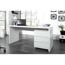 bureau blanc laqué bureaux blanc laque bureau professionnel design 160 cm coloris