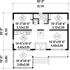 600 sq ft country style house plan 2 beds 1 00 baths 600 sq ft plan 25