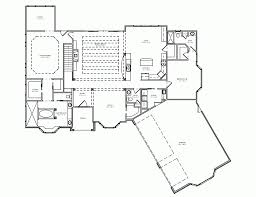 single level house plans modern ranch with garage double master