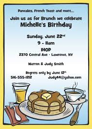 birthday brunch invitations brunch invitation