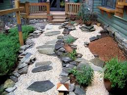 best of contemporary landscape with cheap easy patio ideas design