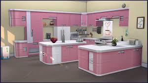 küche pink cappus sims 4 you set harmonie küche