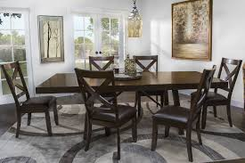 omaha trestle dining table mor furniture for less