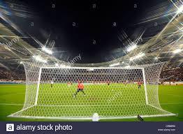 mercedes benz arena stuttgart night view mercedes benz arena stadium stuttgart stock photo
