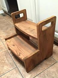 step stool for sink step stool for sink kids wooden 2 step stool all natural