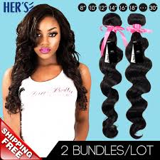 sew in wet and wavy 16in peruvian curly virgin hair loose wave weave bundles 2pcs sew in hair