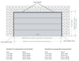 dimensions of a 2 car garage average garage door height average 2 car garage size typical 2 car