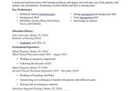 emergency nurse practitioner sample resume resume sample of resume format beautiful nurse resumes samples