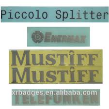 electroforming nickel custom electroforming nickel label for company logo from
