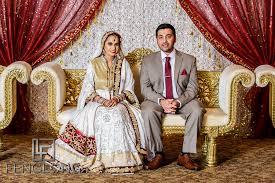 muslim and groom sani javed s valima bethak banquet atlanta indian