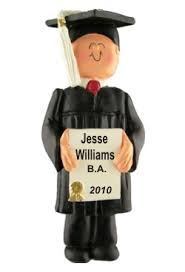 graduation ornaments graduation personalized christmas ornaments by