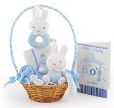 Baby Baskets My Miffy Little Star Baby Boy Gift Basket At 34 99