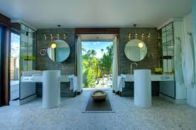 bathroom and green on pinterest idolza the brando luxury in unspoiled nature small islands interior design homes interior bathrooms