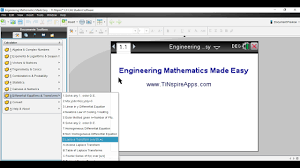 engineering mathematics on the tinspire step by step youtube