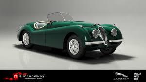 simraceway jaguar xk120