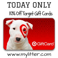 sale my gift card target 10 gift cards today only mylitter one deal at a