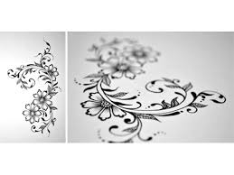 Flower Designs On Paper Floral Doodle 2 By Faheema Patel Dribbble