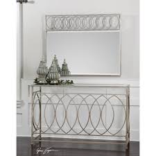Silver Console Table Uttermost Aniya Antique Silver Console Table On Sale