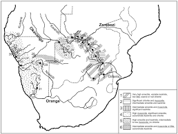 Rivers In Africa Map by Clay Mineralogy In Southern Africa River Muds Clay Minerals