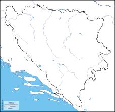 Bosnia Map Bosnia And Herzegovina Free Map Free Blank Map Free Outline Map